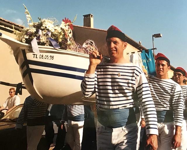 Kermesse à Cogolin village dans le Var à la mémoire des marins région PACA France