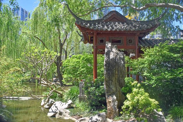 Chinese Garden at Darling Bay, Sydney.