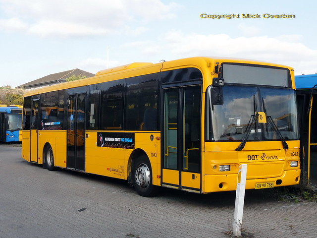 ARRIVA reserve fleet 2009 Volvo B7RLE 1043 out of contract but next in line to return to service when needed