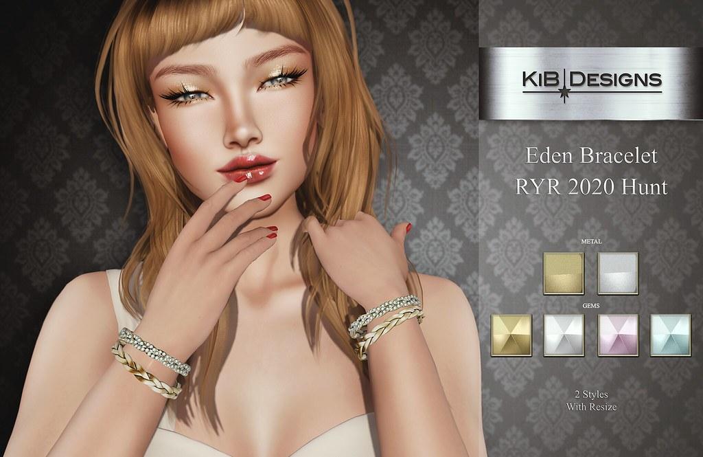 KiB Designs – Eden Bracelets Hunt Prize @RockYourRackFair