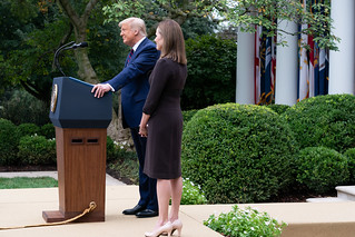 President Trump Nominates Judge Amy Coney Barrett for Associate Justice of the U.S. Supreme Court | by The White House