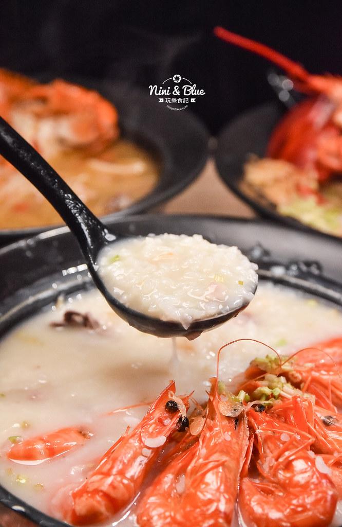 台中海鮮粥 粥堂 龍蝦 螃蟹 蟹管肉 麻油雞 29