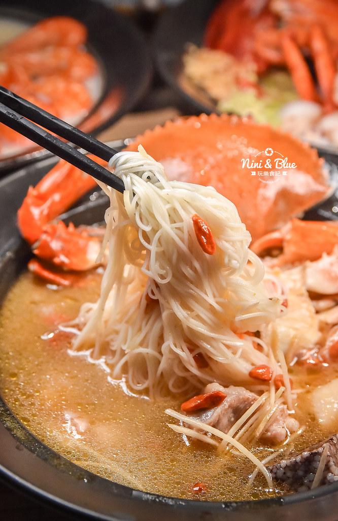 台中海鮮粥 粥堂 龍蝦 螃蟹 蟹管肉 麻油雞 23