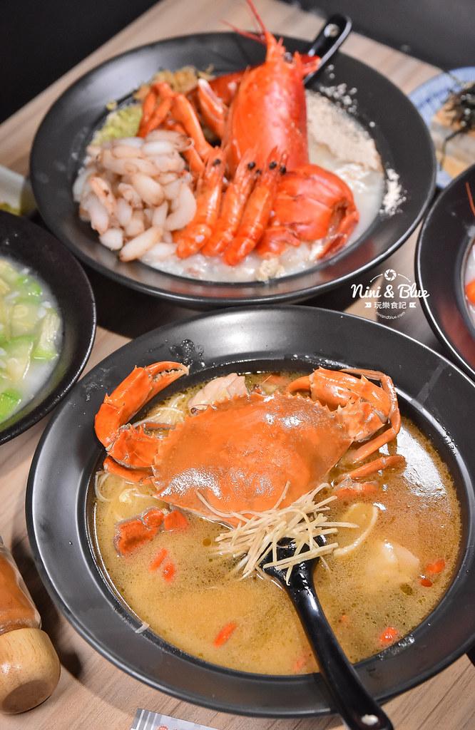 台中海鮮粥 粥堂 龍蝦 螃蟹 蟹管肉 麻油雞 17