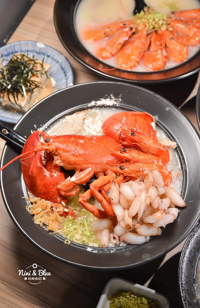 台中海鮮粥 粥堂 龍蝦 螃蟹 蟹管肉 麻油雞 16