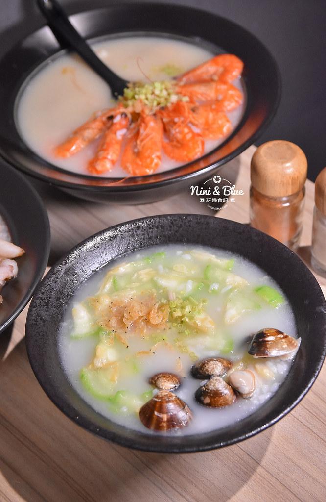 台中海鮮粥 粥堂 龍蝦 螃蟹 蟹管肉 麻油雞 08