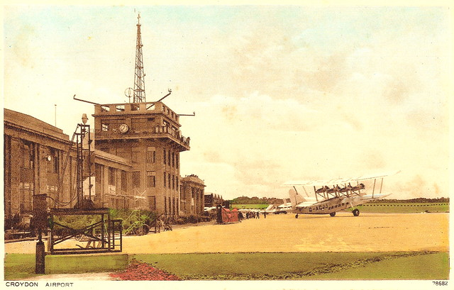 Croydon Airport Between 1934 and 1940. And the Fatal Crash of an Imperial Airways de Havilland in Purley.