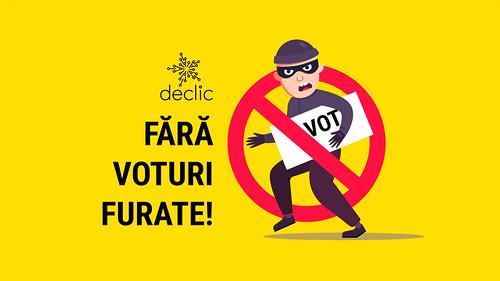 Cerem Parchetului General anchetarea suspiciunii de fraudă electorală