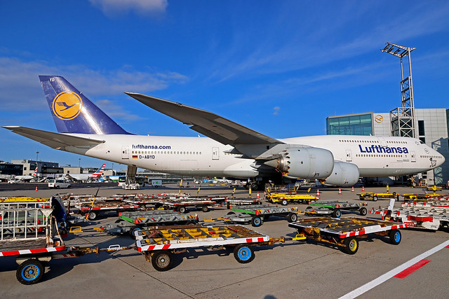 Lufthansa Boeing 747-830 D-ABYD