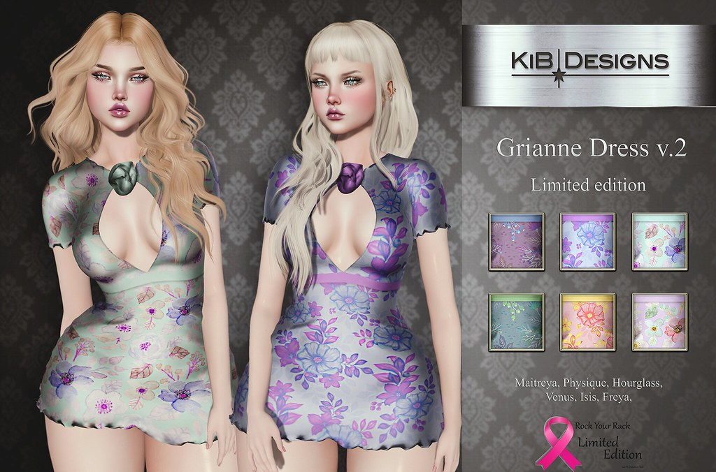 KiB Designs - Grianne Dress v.2 Limited Edition @RockYourRackFair