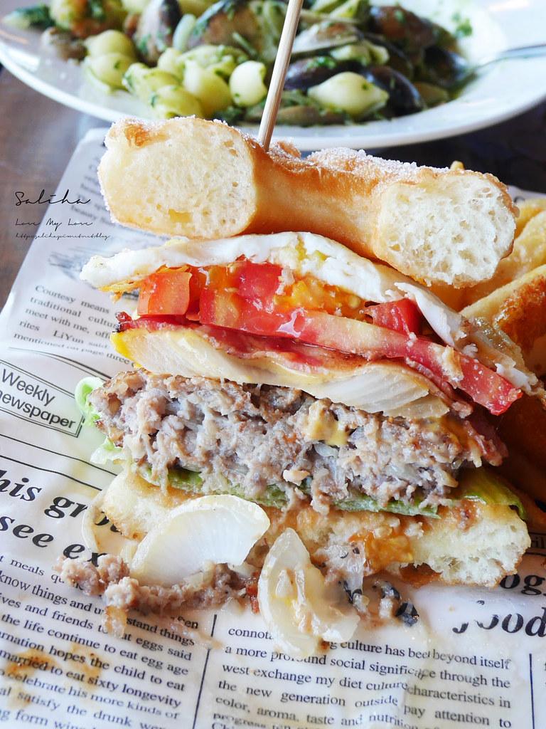淡水老街適合約會氣氛好浪漫景觀餐廳推薦紅色穀倉不限時間餐點好吃美食有素食 (1)