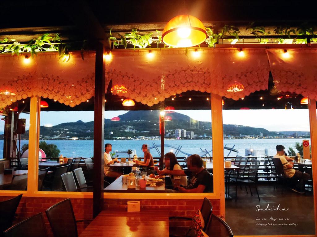 淡水景觀餐廳分享紅色穀倉好吃美食ig打卡推薦一日遊情侶約會看夕陽情人節 (3)