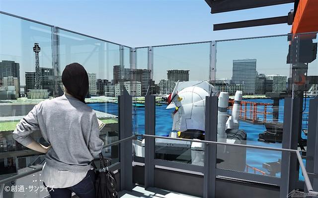 橫濱實物大可動鋼彈『GUNDAM FACTORY YOKOHAMA』確定將於 12 月 19 日開幕