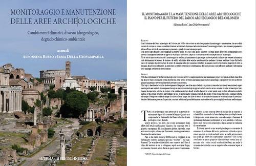 """ROMA ARCHEOLOGICA & RESTAURO ARCHITETTURA 2020. ROMA - """"Monitoraggio e manutenzione nelle aree archeologiche. Cambiamenti climatici, dissesto idrogeologico, degrado chimico-ambientale."""" ROMA: L'ERMA di BRETSCHNEIDER (2020)."""