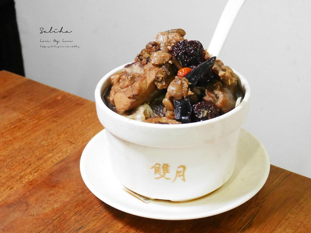 台北必吃美食養生料理餐廳雙月食品社青島店銅板價cp值高人氣排隊米其林小吃 (1)