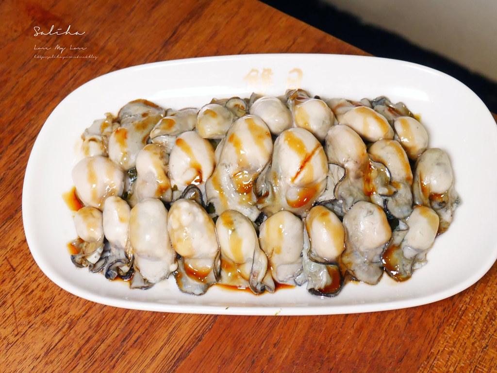 台北必吃美食雙月食品社青島店cp值超高蚵仔美食海鮮