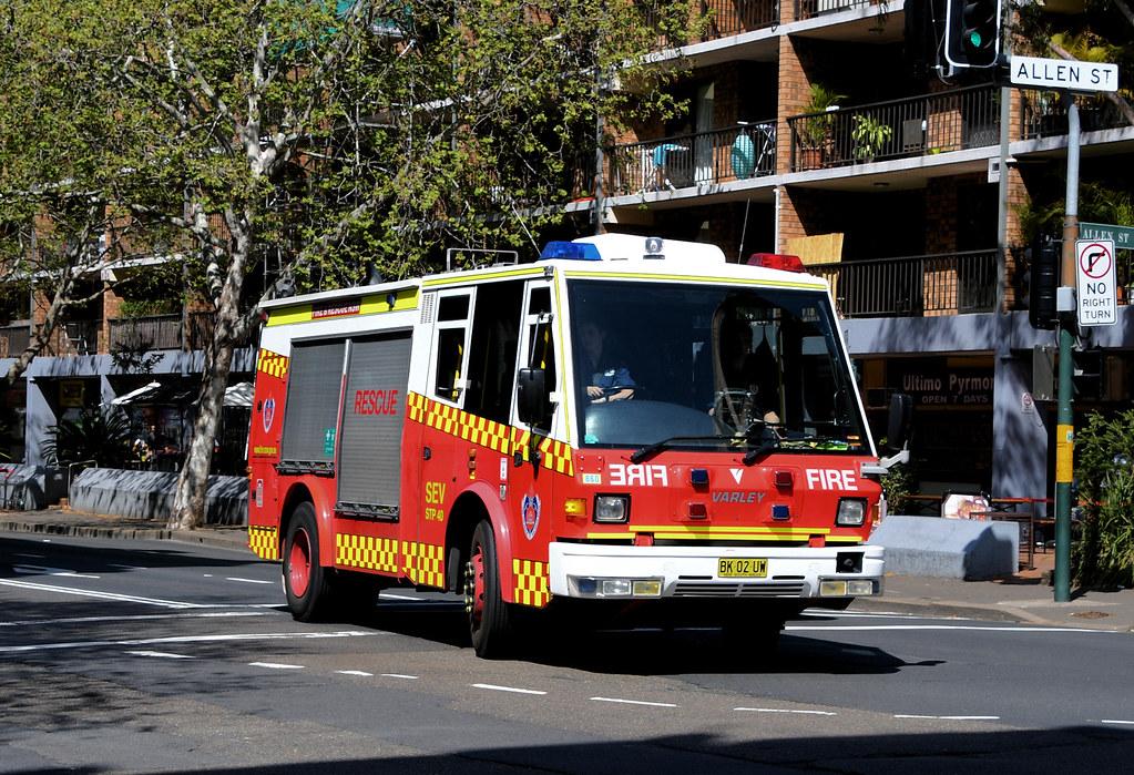 Varley Fire Appliance, Pyrmont, Sydney, NSW.