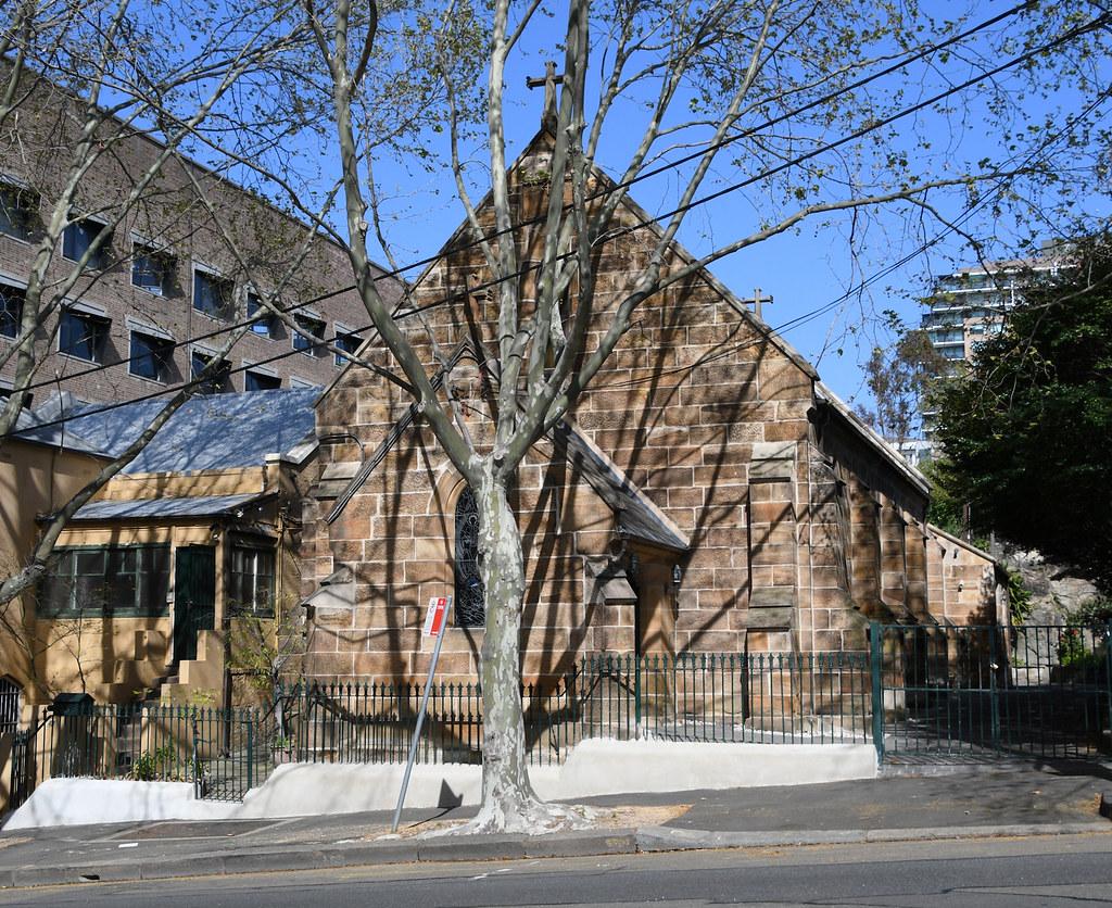St Bede Catholic Church, Pyrmont, Sydney, NSW.