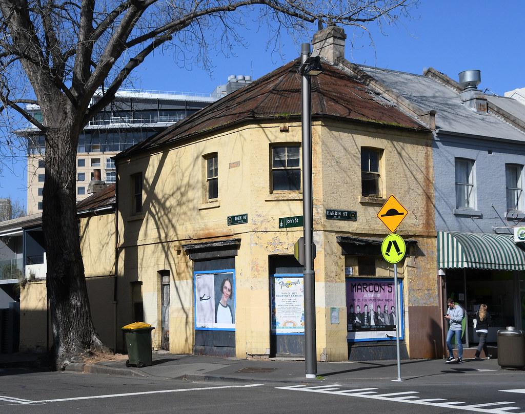 Former Shop, Pyrmont, Sydney, NSW.