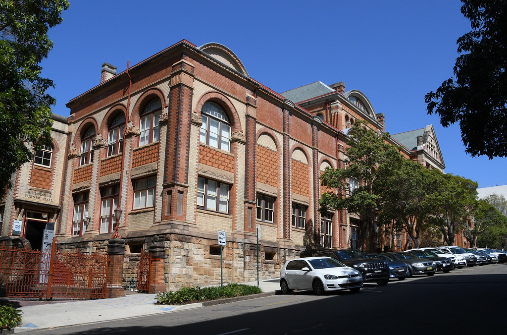 Building No 1, TAFE, Ultimo, Sydney, NSW.