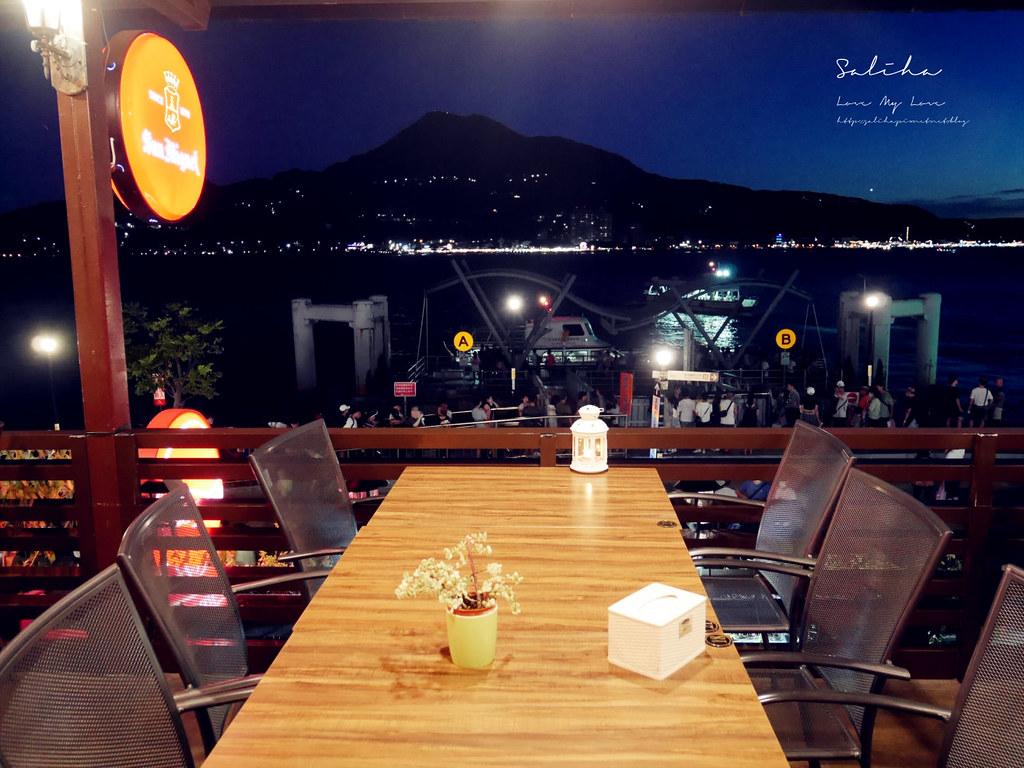 新北淡水景觀餐廳紅色穀倉看夕陽落日晚霞日落地點推薦氣氛好浪漫 (1)
