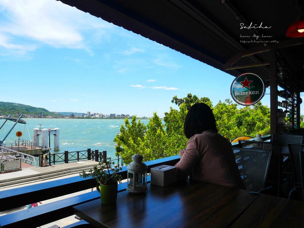 淡水一日遊行程推薦不限時景觀餐廳老街美食好吃紅色穀倉ig餐廳拍照打卡夕陽 (1)