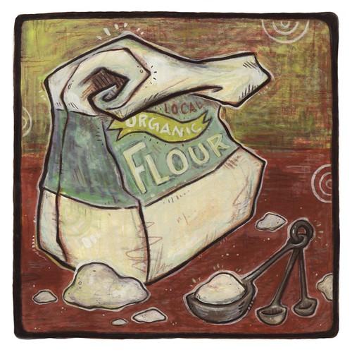 flour. From Artist Spotlight: Kat VanderWeele, LimningHouse Illustration
