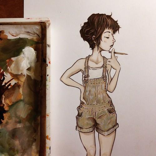 From Artist Spotlight: Kat VanderWeele, LimningHouse Illustration
