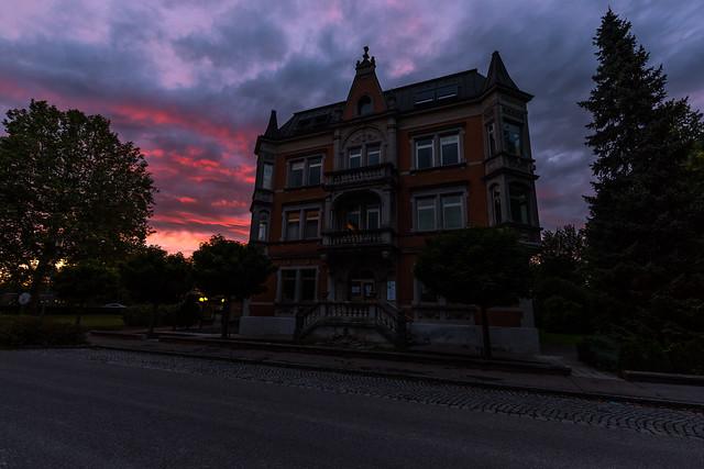 Zahnarzt Weißenhorn Sonnenuntergang