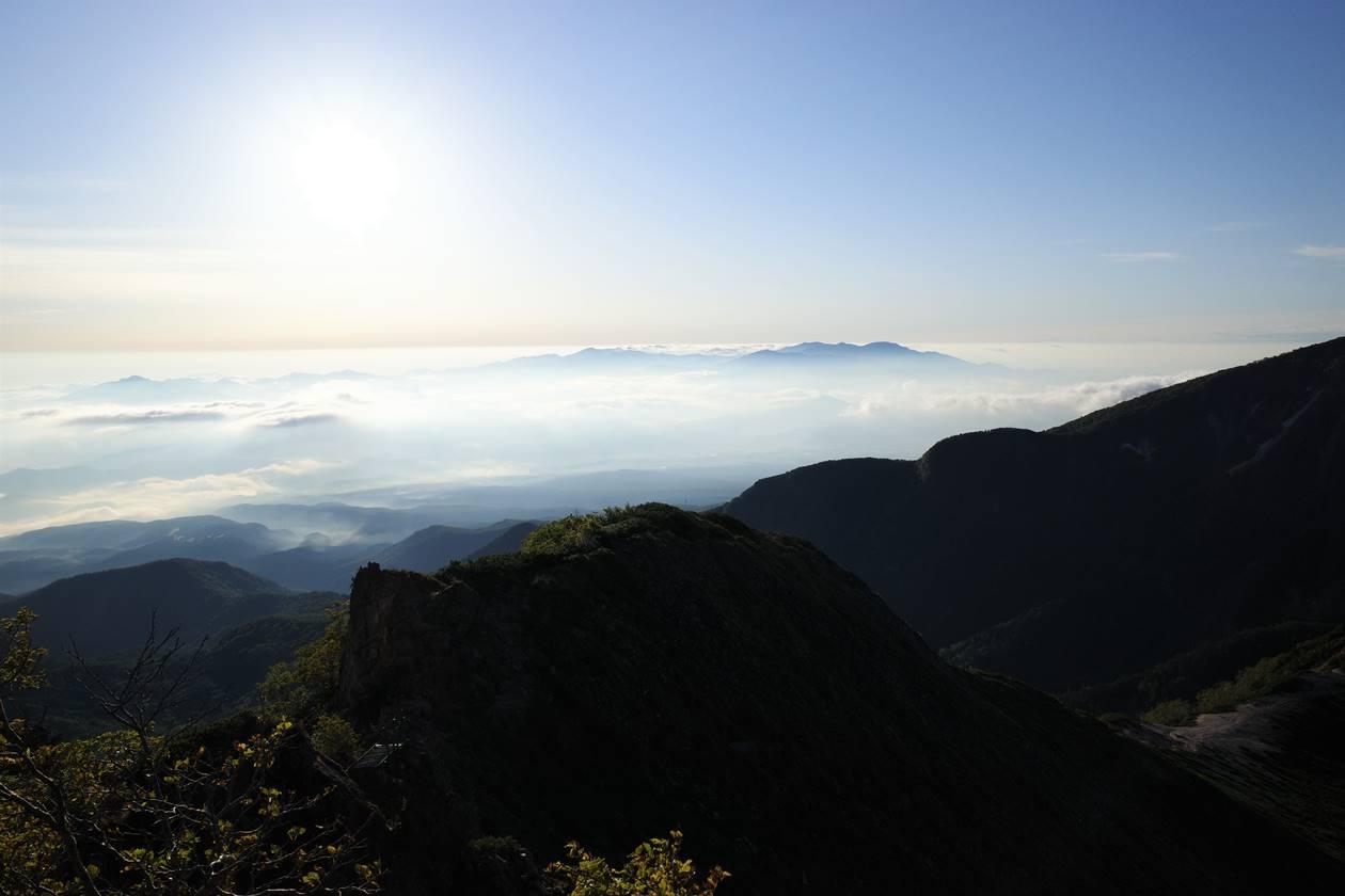 天狗岳山頂からの展望