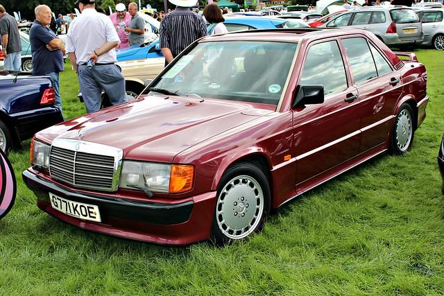 217 Mercedes (W201) 190E 2.5-16v Cosworth (1990) G 771 KOE