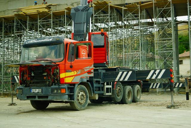 MAN F2000 Euro2 32.270 8x4 (2005) - Bolu, Karadeniz Bölgesi, Türkiye