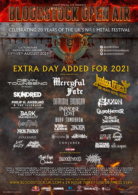 Bloodstock Festival Confirm Ten More Bands For 2021