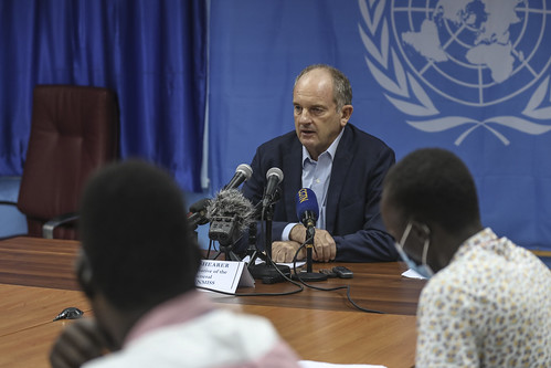 SRSG David Shearer urges greater commitment to peace process from all parties | by UNMISS MEDIA