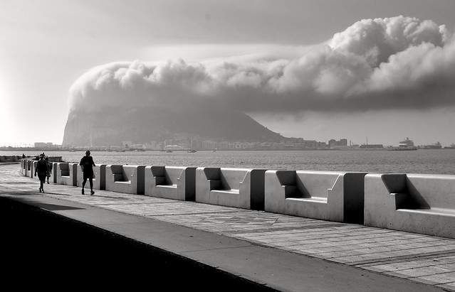 The cloud of Gibraltar