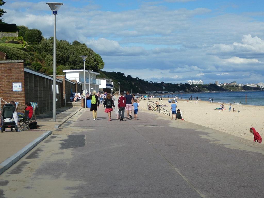 Sandbanks promenade