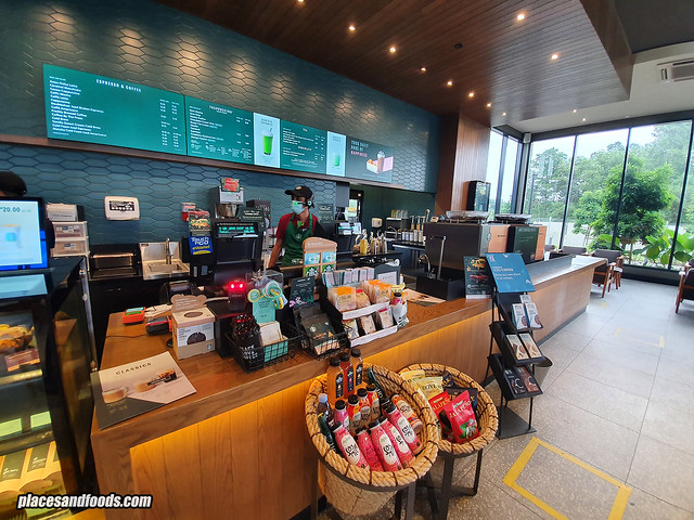 starbucks jade hills counter