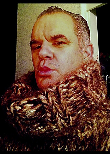 Brown Mohair Turtleneck/Cowlneck Redux.