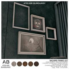 Atelier Burgundy . Macabre