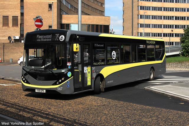 Blackpool Transport | YX19 OPG | 567