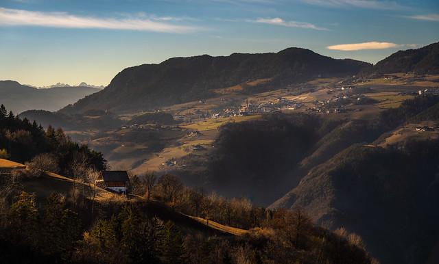 Winter Sun in the foothills (Explore)