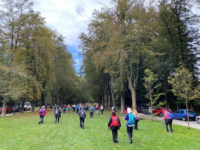 Excursió de Marxa Nòrdica De Vilallonga de Ter a Camprodon