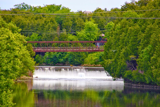 Elora Ontario - Canada - Elora Gorge Dam