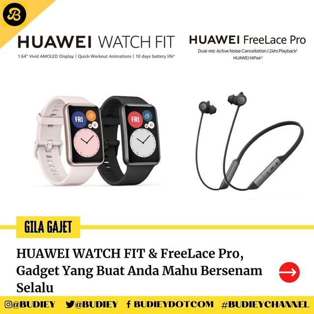 HUAWEI WATCH FIT & FreeLace Pro