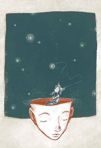 imagine. From Artist Spotlight: Kat VanderWeele, LimningHouse Illustration