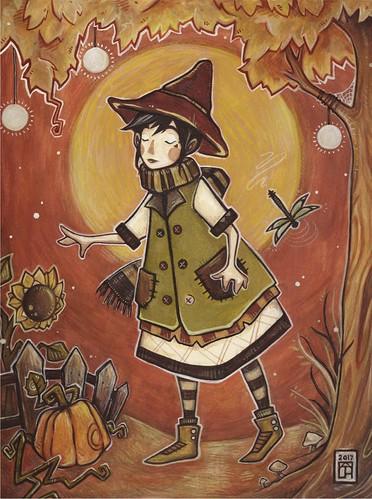 autumn. From Artist Spotlight: Kat VanderWeele, LimningHouse Illustration