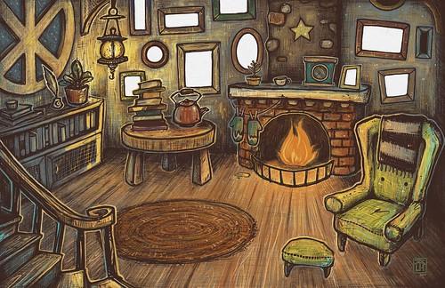 Home. From Artist Spotlight: Kat VanderWeele