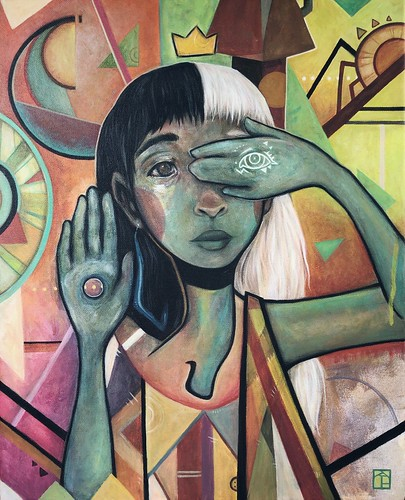 abstract sight. From Artist Spotlight: Kat VanderWeele, LimningHouse Illustration