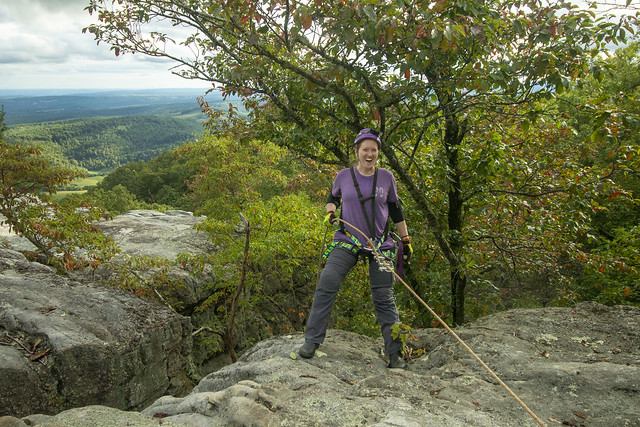 Kelli Lewis, Black Mountain Overlook, Cumberland Trail State Park, Cumberland County