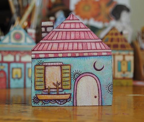 little house. From Artist Spotlight: Kat VanderWeele, LimningHouse Illustration